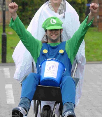 Harvey Warren Trust wheelbarrow race