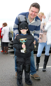Prize for best outfit was awarded to Batman, alias Mathew O'Callaghan.